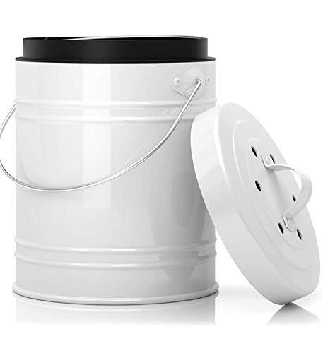 5 Liter Küchen Bio Mülleimer und...