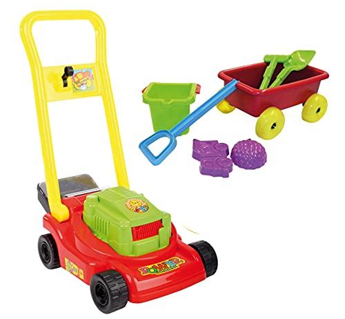 Set Kinder Gartenspielzeug Rasenmäher mit...