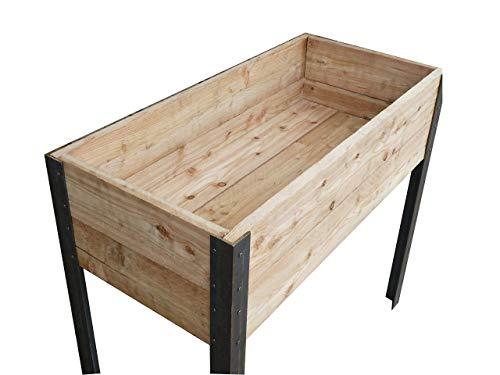 Die Gartenbeet-Kiste Stabiles Hochbeet...