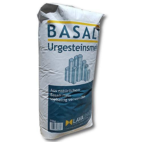 Basalt Urgesteinsmehl 25 kg Bodenaktivator...