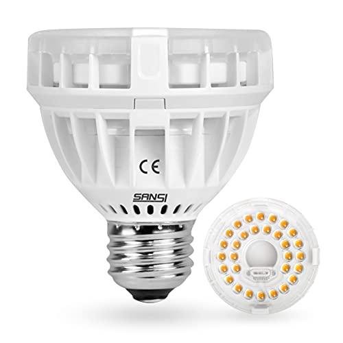SANSI 10W LED Pflanzenlampe Vollspektrum E27,...