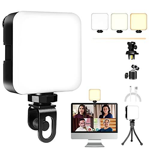 LED Videokonferenz Licht Videoleuchte mit...