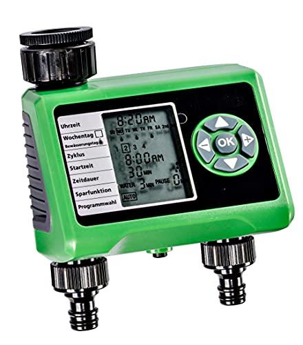 Bewässerungscomputer GLO-52 mit 2 Auslässen...