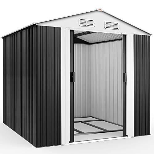 Deuba XXL Metall Gerätehaus 5m² mit...