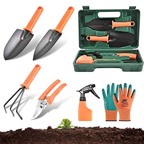 Gartenwerkzeug Set 6 Stück, Anti-Rost...