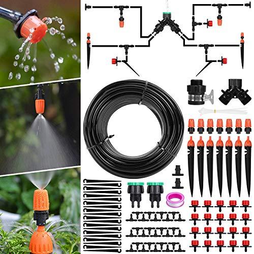 Aiglam 40M Bewässerungssystem, Micro Drip...