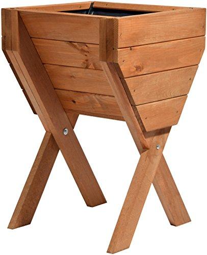 dobar Kleines Hochbeet aus Holz inkl....