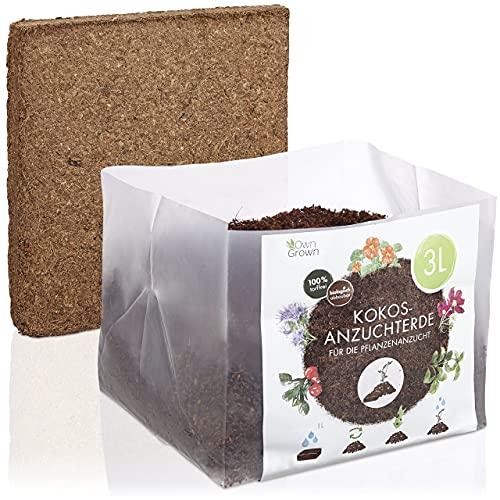 Kokos Anzuchterde mit Nährstoffen: 3L...