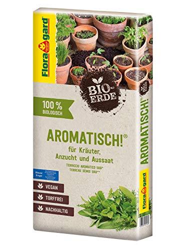 Floragard Bio-Erde Aromatisch 1x40 Liter -...