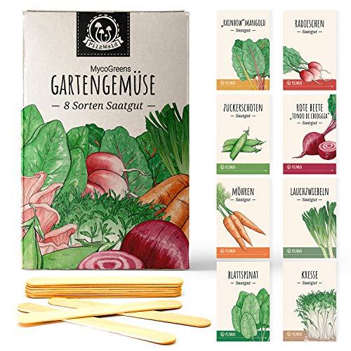 Gemüse Samen Set mit 8 Sorten Saatgut...