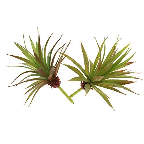 2 Stück künstliche, natur-getreue Pflanzen,...