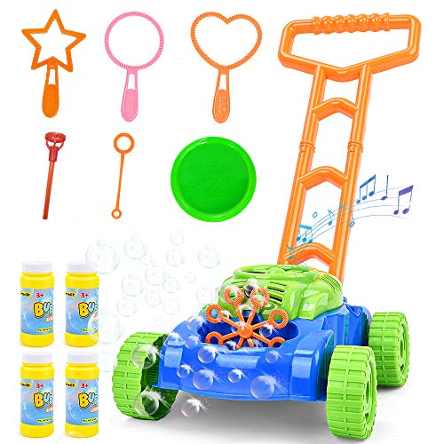Sotodik Seifenblasen Rasenmäher für Kinder...