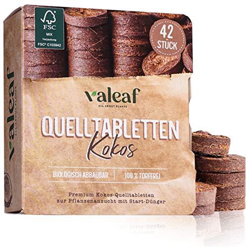 valeaf Kokos Quelltabletten 42 STK mit...