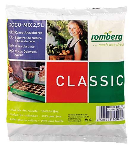 Romberg Kokos-Anzuchterde Classic (2,5 Liter,...