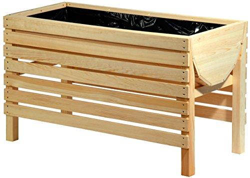 dobar 58196e Dekoratives Hochbeet aus Holz...