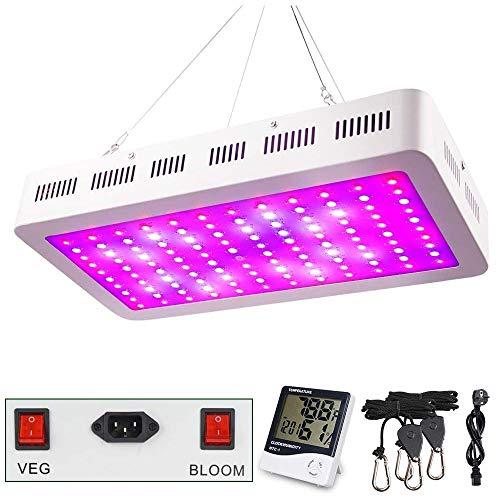1200W LED Pflanzenlampe, WAKYME Einstellbar...