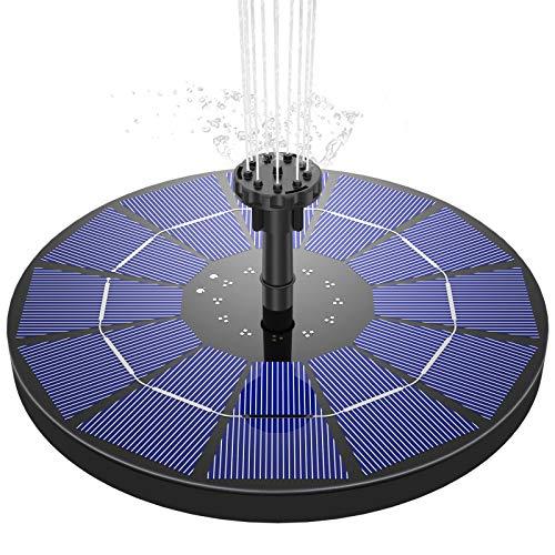 AISITIN Solar Springbrunnen 3.5W Solar...
