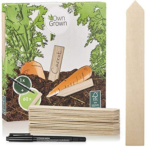 Holzschilder zum Beschriften: Premium Holz...