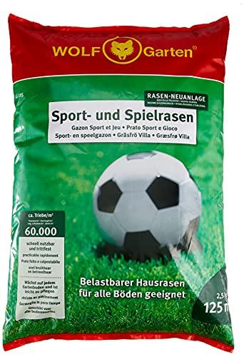 WOLF-Garten - Sport- und Spiel-Rasen LG 125;...