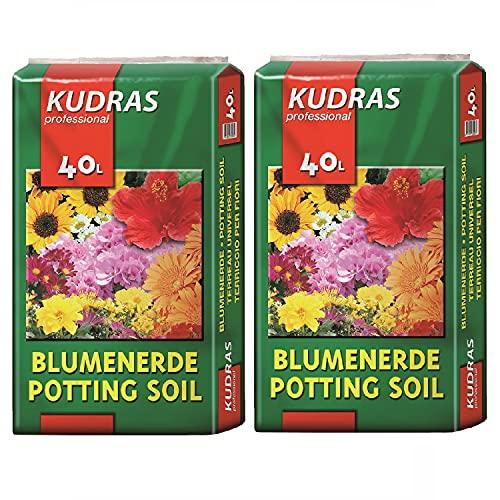 Kudras Blumenerde Universalerde 80L (2x40L...