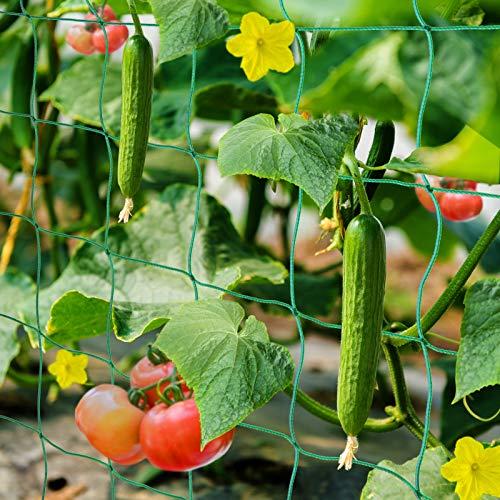 HUTHIM Ranknetz Rankhilfe Garten Tomaten...