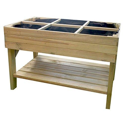 Nordje Hochbeet Almina aus Holz 120x60x85cm...