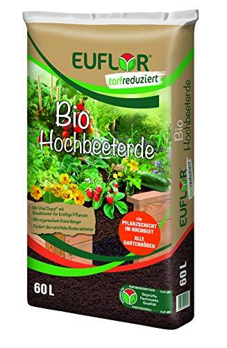 Euflor Bio Hochbeeterde 60 L Sack, als...