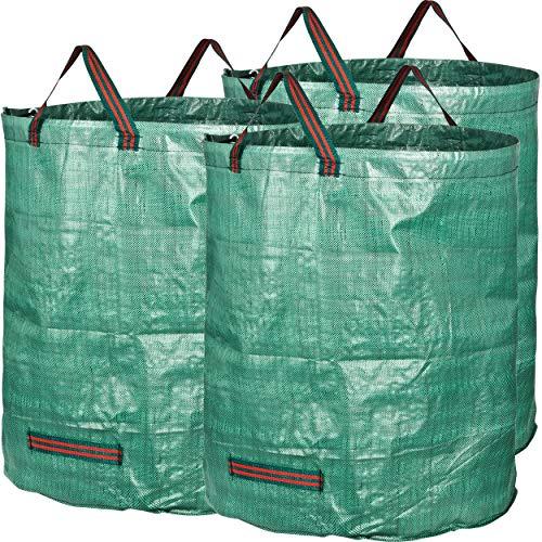 GardenMate® 3x Gartensack 272l aus robustem...