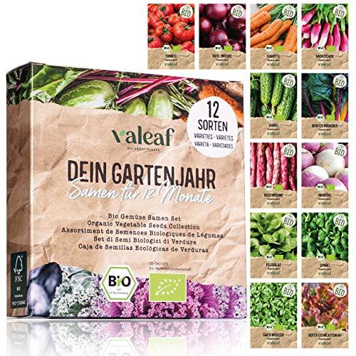 valeaf BIO Gartenjahr Samen Set I...